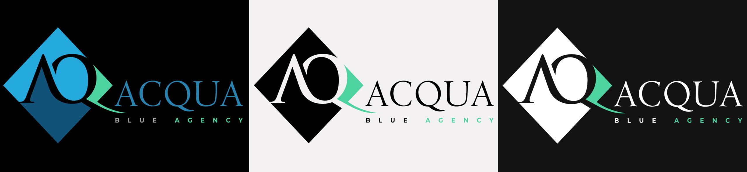 acqua-blue-agency-logo-variants