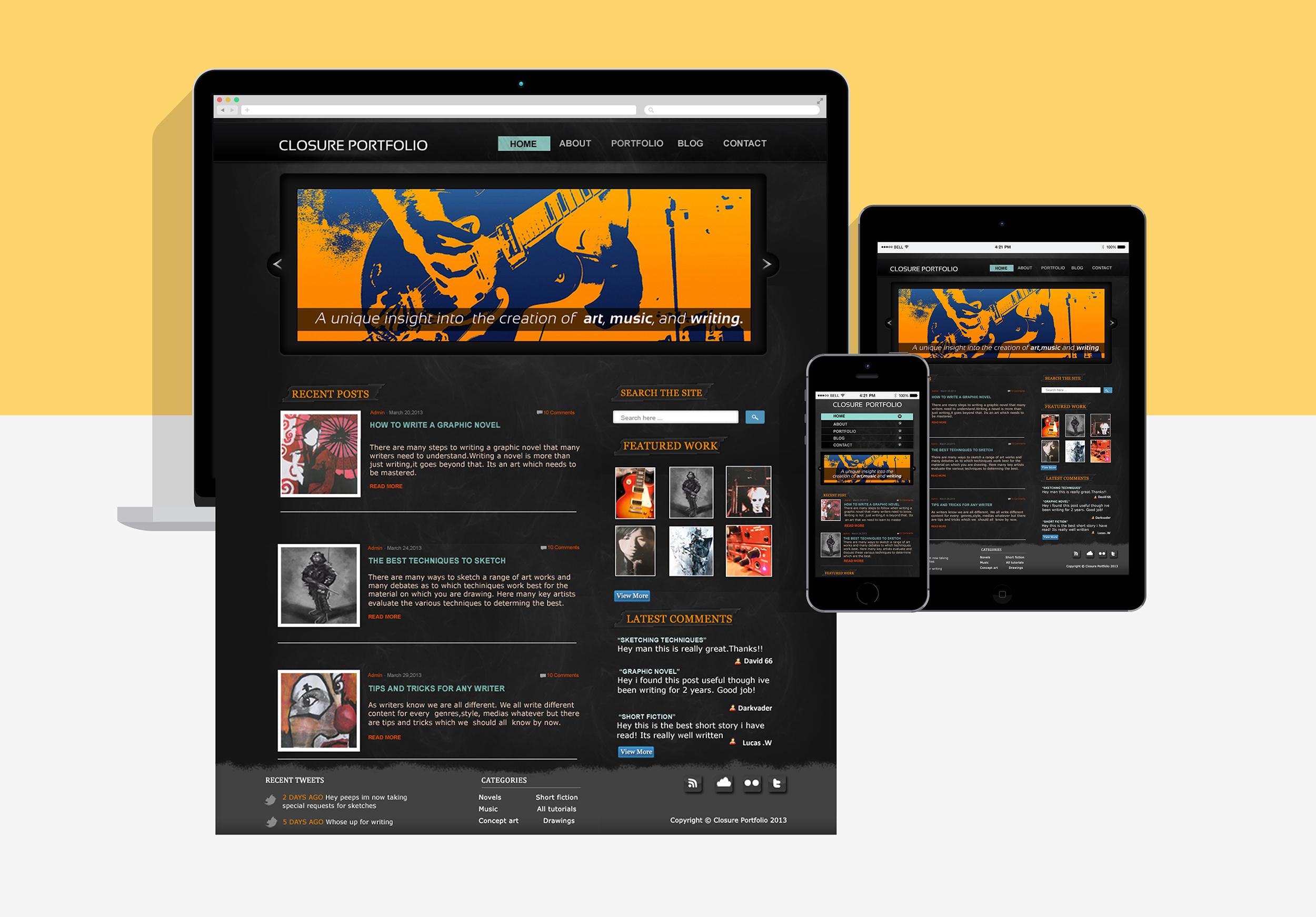 closure-portfolio-website