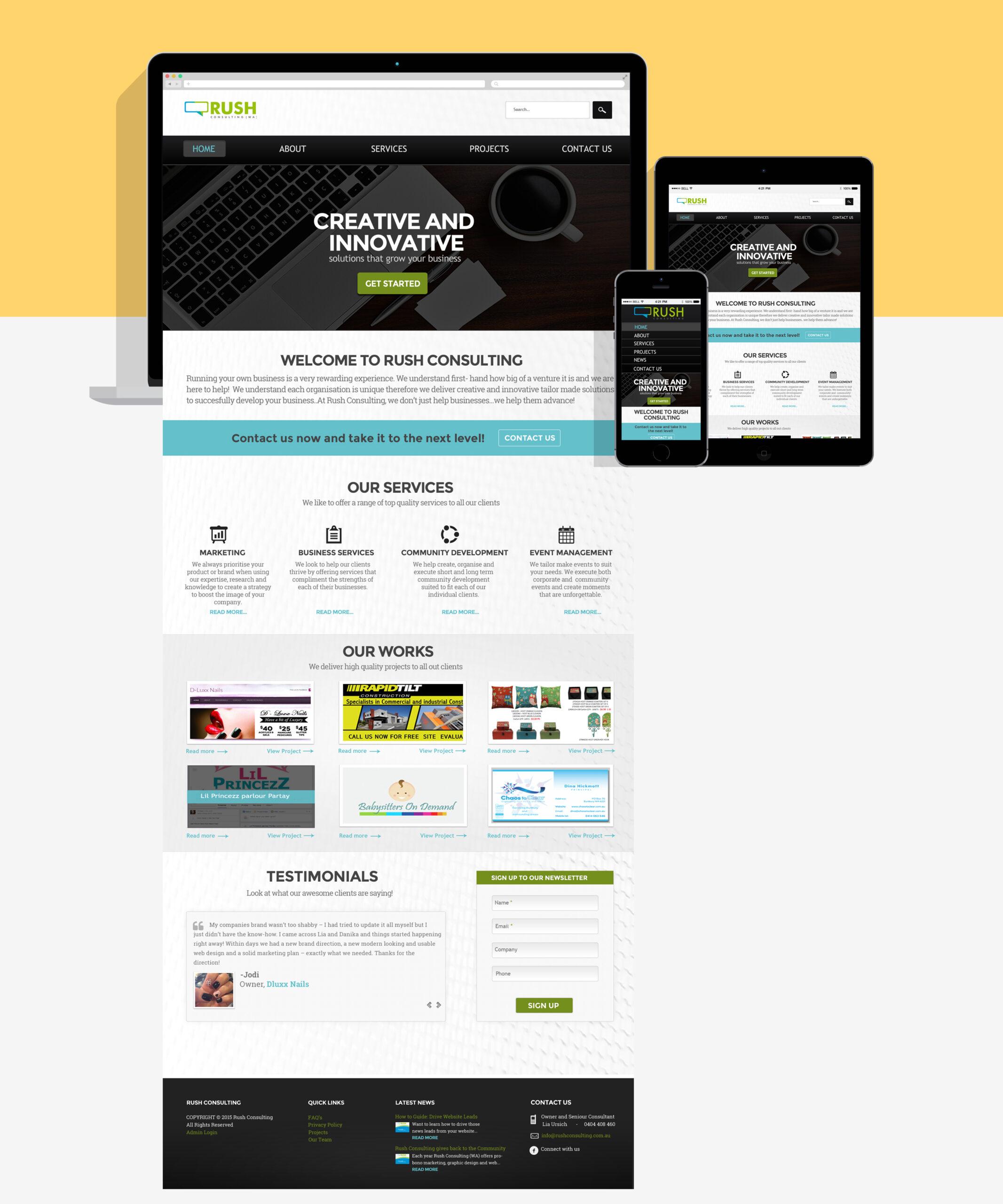 rush-consulting-website-re-design