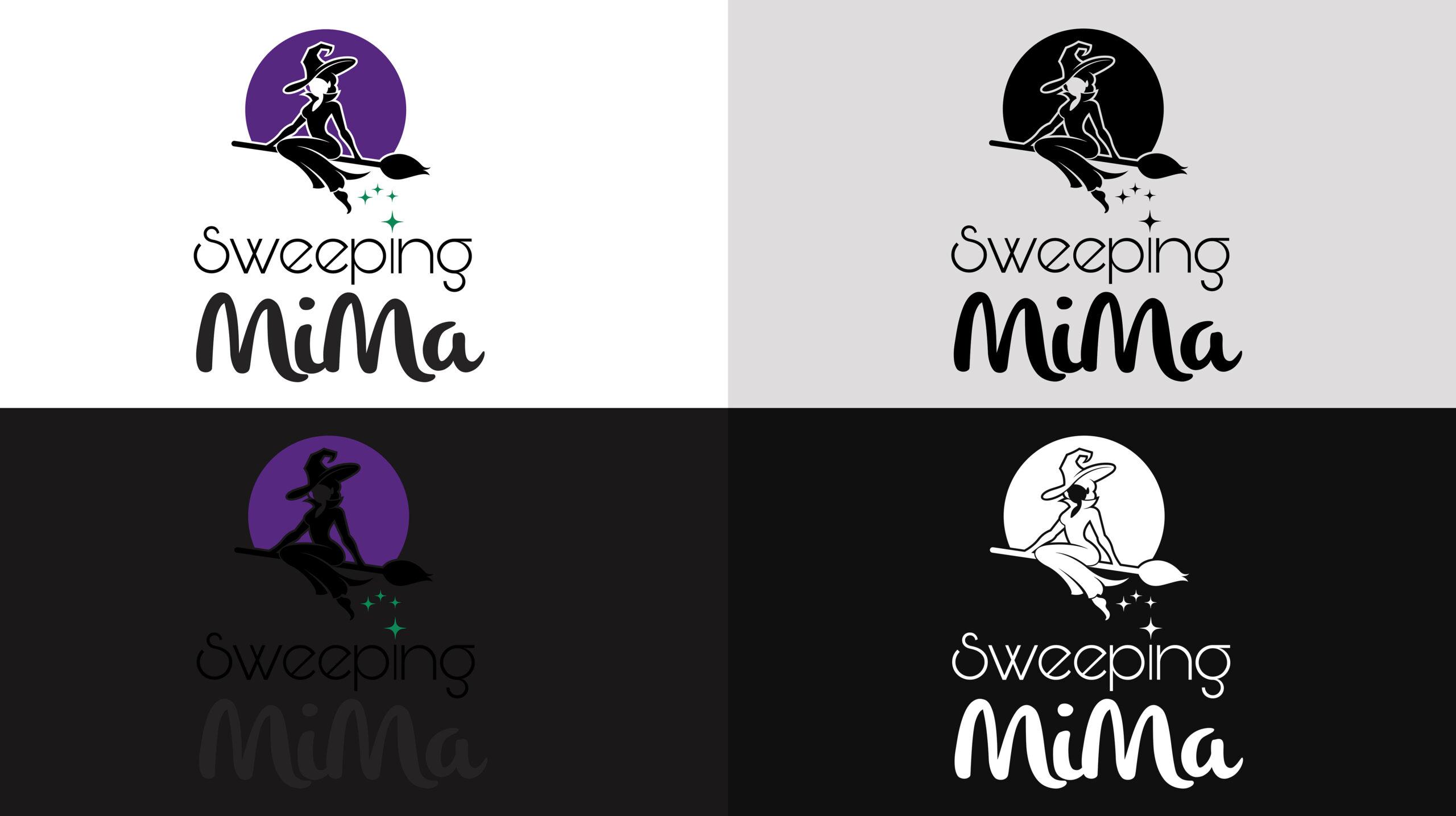 sweeping-mima-logo-variants