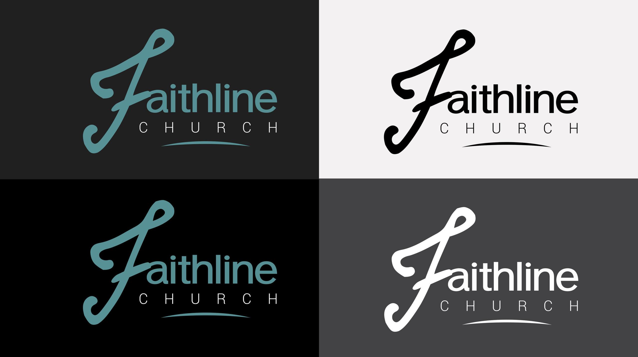 faithline-church-logo-variants