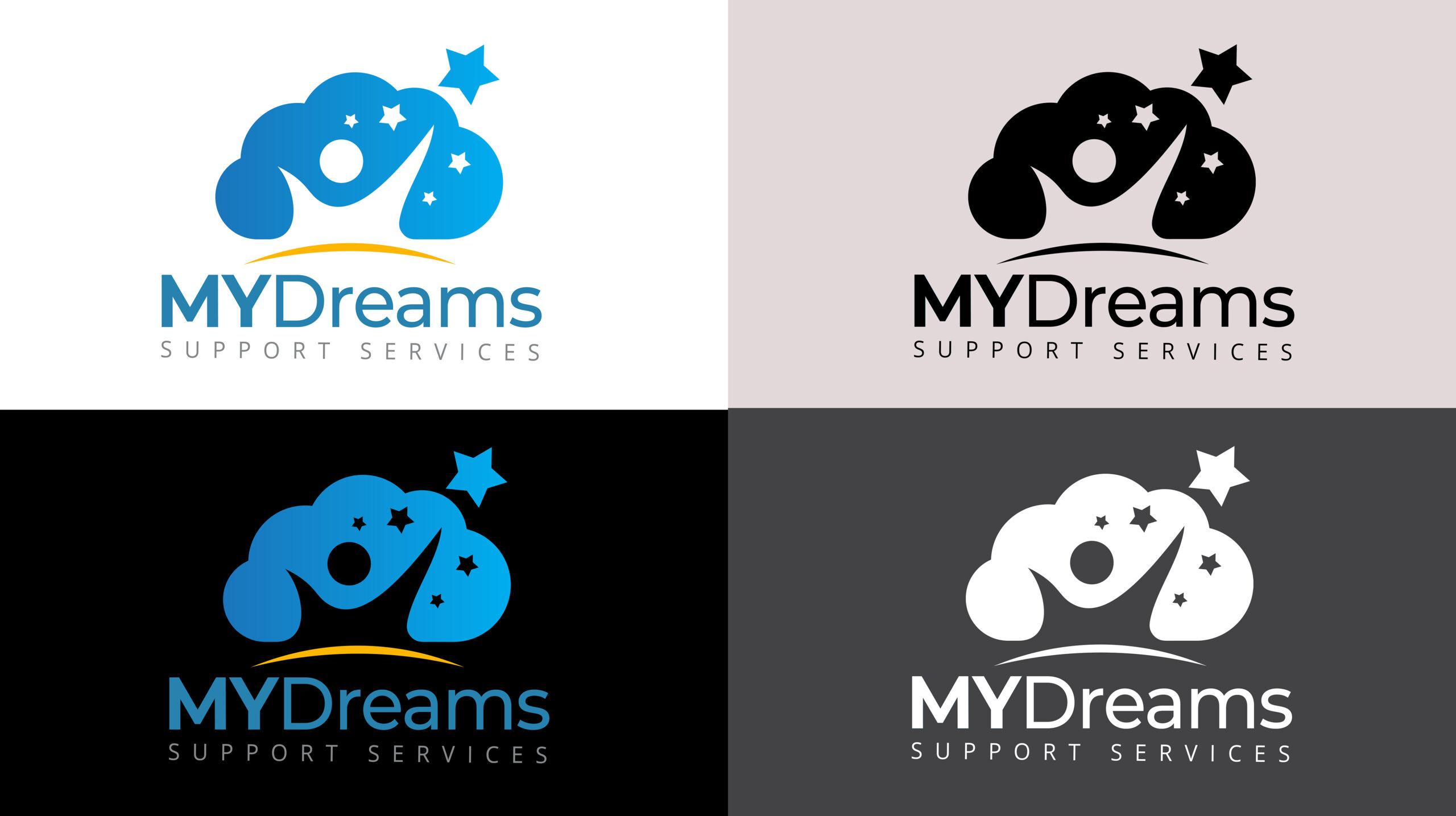 my-dreams-logo-variants